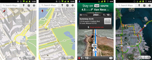 Google Maps Navigation für Android