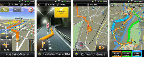 Navigon select GPS Navigation für Android