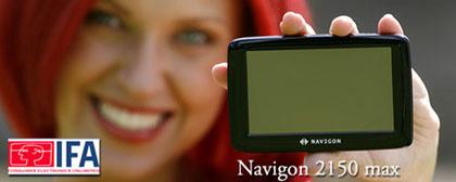 IFA 2008 - Navigon 2150 max