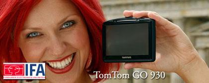 IFA 2008 - TomTom Go 930