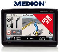 Medion GoPal P5430 Navigationssystem