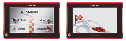 Becker Traffic Assist Pro Z 250 Ferrari Edition 1