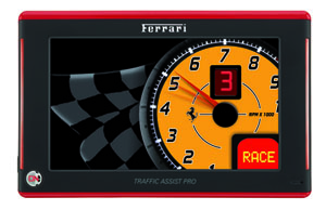 Becker Traffic Assist Pro Z 250 Ferrari Edition
