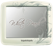TomTom White Pearl