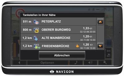 Navigon Live Dienste
