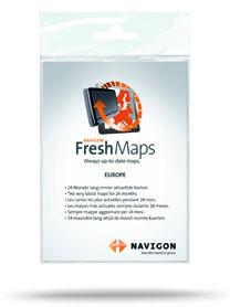 Navigon Freshmaps Abo