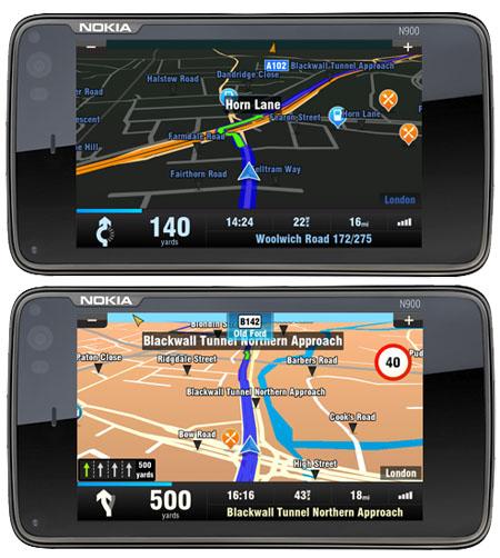 Sygic Mobile Maps 10 für das Nokia N900