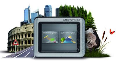 Medion Hybrid / Outdoor Navigationssystem