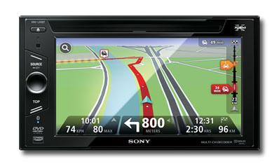 Sony Xplod Serie mit TomTom Navigation