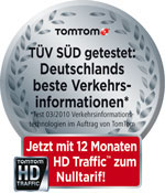 TomTom HD-Traffic Testsieger
