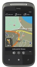Navigon select Telekom auf Windows Phone 7
