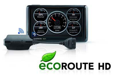 Garmin ecoRoute HD-Adapter