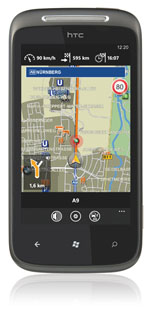 Navigon select auf Windows Phone 7