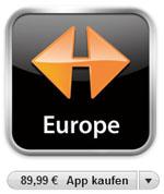 Navigon MobileNavigator Europe für iPhone