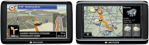 Navigon 70 Easy & Navigon 70 Plus Live