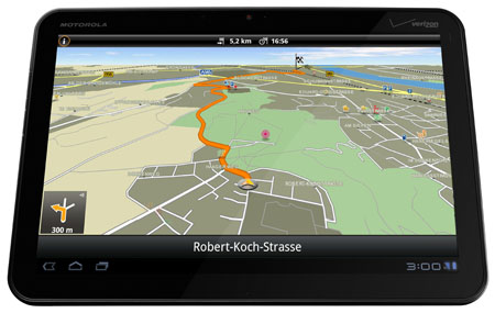 Navigon Android Update 3.6 auf Tablet-PC