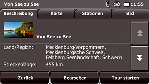 Falk S450 - Touren Manager
