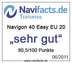 Navigon 40 Easy EU 20 Testurteil