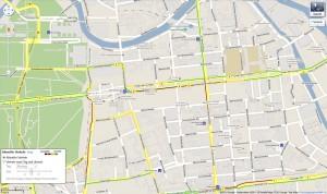 Google Maps Verkehrsinformationen