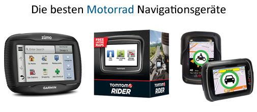 Die besten Motorrad Navigationssysteme