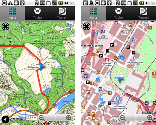 MagicMaps Scout Android