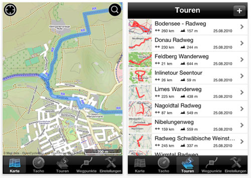MagicMaps Scout iPhone