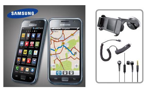 Samsung Galaxy S I9000 inkl. Medion GoPal Navigator App
