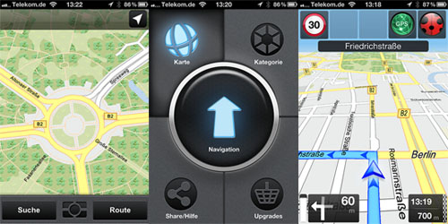 Skobbler GPS Navigation 2 - iPhone