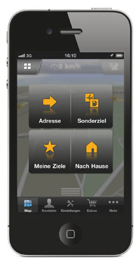 Navigon für iPhone 2.0