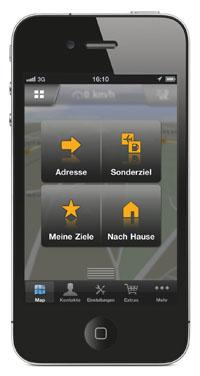 Navigon für iPhone 2.0