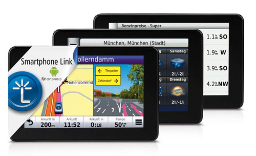 Smartphone Link: Android App aus dem Hause Garmin